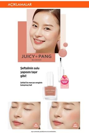 Missha Doğal Görünüm Sunan Nemlendirici Likit Allık 9g. APIEU Juicy-Pang Water Blusher (BE01) 2