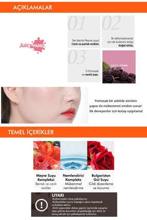 Missha Doğal Görünüm Sunan Likit Allık A'pıeu Juicy-pang Water Blusher (vl03) 2