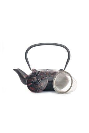 Beta Ba3081 Cast Iron Teapot-demir Döküm Demlik Purple 600 Ml 1