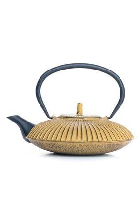 Beta Ba3075 Cast Iron Teapot-demir Döküm Demlik Gold 770 Ml 0
