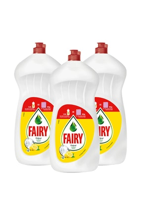 Fairy 3x1500 Ml Sıvı Bulaşık Deterjanı Limon 1