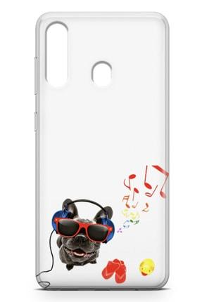 Lopard Samsung Galaxy A60 Kılıf Entel Köpek Arka Kapak Koruma Desenli Full Koruyucu 1