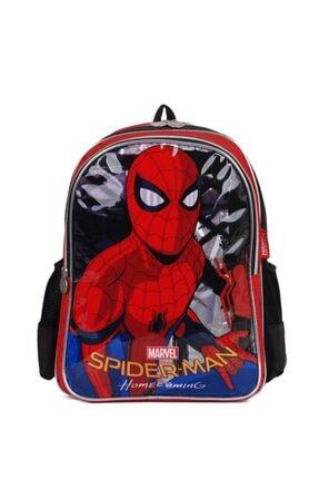 Spiderman Okul Çantası 4lü Okul Seti ( Çanta Beslenme Matara Yemek Kabı) 2