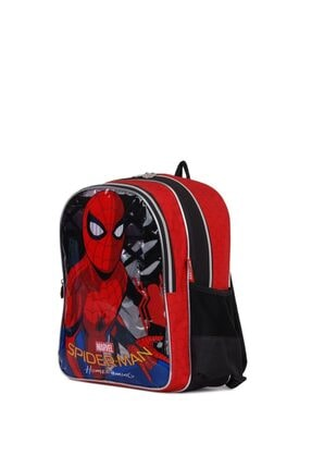 Spiderman Okul Çantası 4lü Okul Seti ( Çanta Beslenme Matara Yemek Kabı) 3