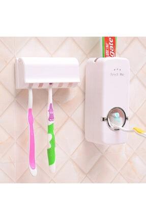 Otomatik Diş Macunu Sıkacağı Macun Sıkma Ve Diş Fırçalığı Kutusu 1