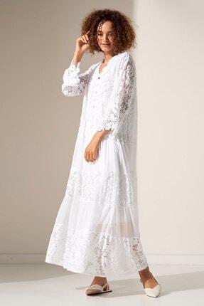 Camena Dantel Detaylı Elbise 2019070500177 1