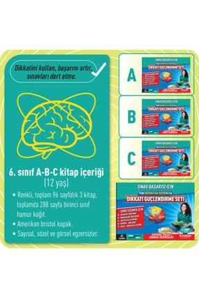 Adeda Yayınları Orıgınal Adeda Dikkati Güçlendirme Seti - 6. Sınıf - 12 Yaş Neuro Via - Osman Abalı 1