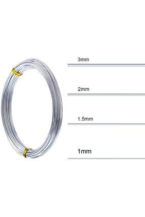 Dünya Magnet Alüminyum Tel 100 m 0,6 mm 3