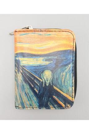 Köstebek Art - Edvard Munch - The Scream Cüzdan 0
