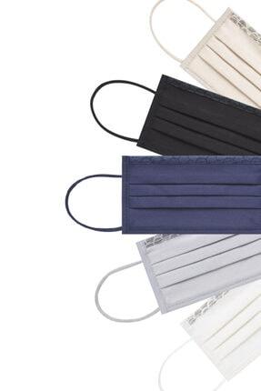 Maisonette Yıkanabilir Pamuklu Yüz Maskesi 5'li Paket Rengarenk M Beden 3
