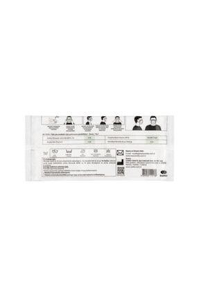 Maisonette Yıkanabilir Pamuklu Yüz Maskesi 5'li Paket Rengarenk M Beden 4