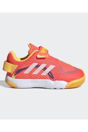 adidas Unisex Çocuk Pembe Beyaz Spor Ayakkabı 0