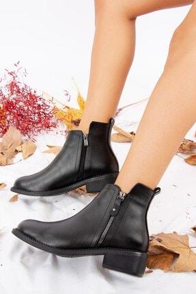 Fox Shoes Siyah Kadın Bot J518080409 0