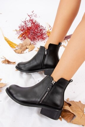 Fox Shoes Siyah Kadın Bot J518080409 1