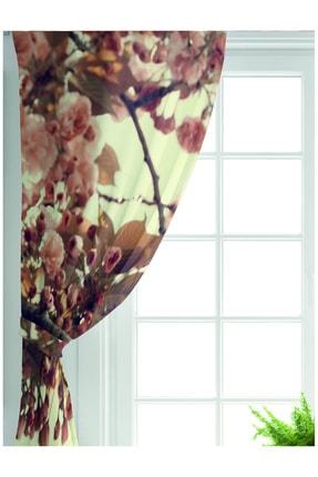 Realhomes Özel Tasarım Dijtal Baskılı Modern Salon Fon Perdesi 1