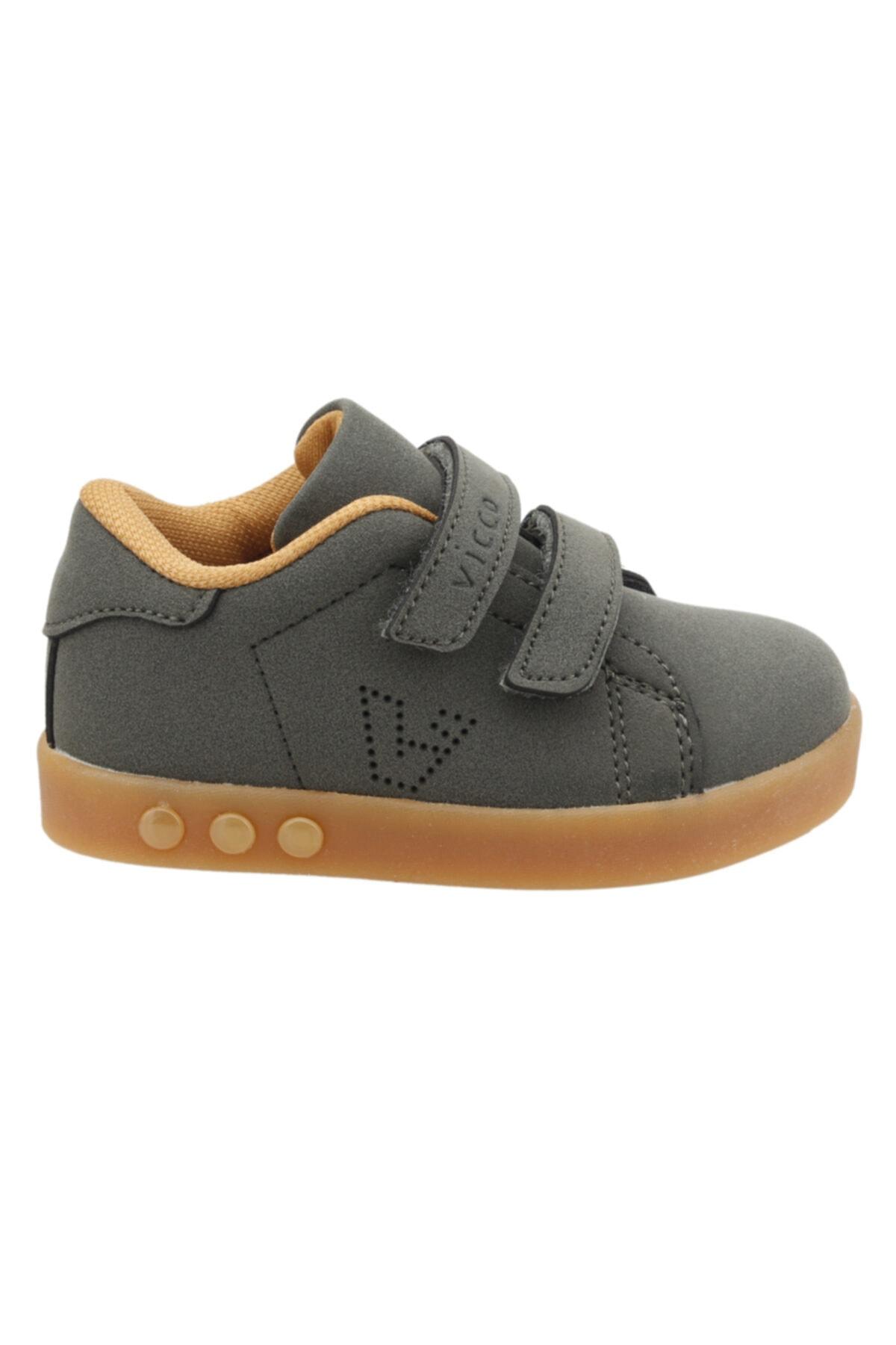 Unisex Çocuk Haki Sneaker