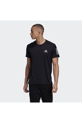 adidas Erkek Siyah Own The Run Tee T-shirt Gc7873 3