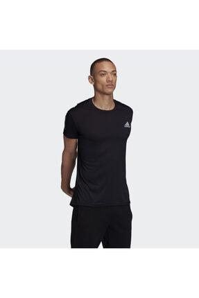 adidas Erkek Siyah Own The Run Tee T-shirt Gc7873 4