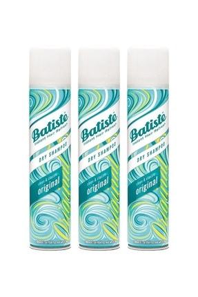 Batiste 3 x Orijinal Kuru Şampuan - Original Dry Shampoo 200ml 5010724527433 0
