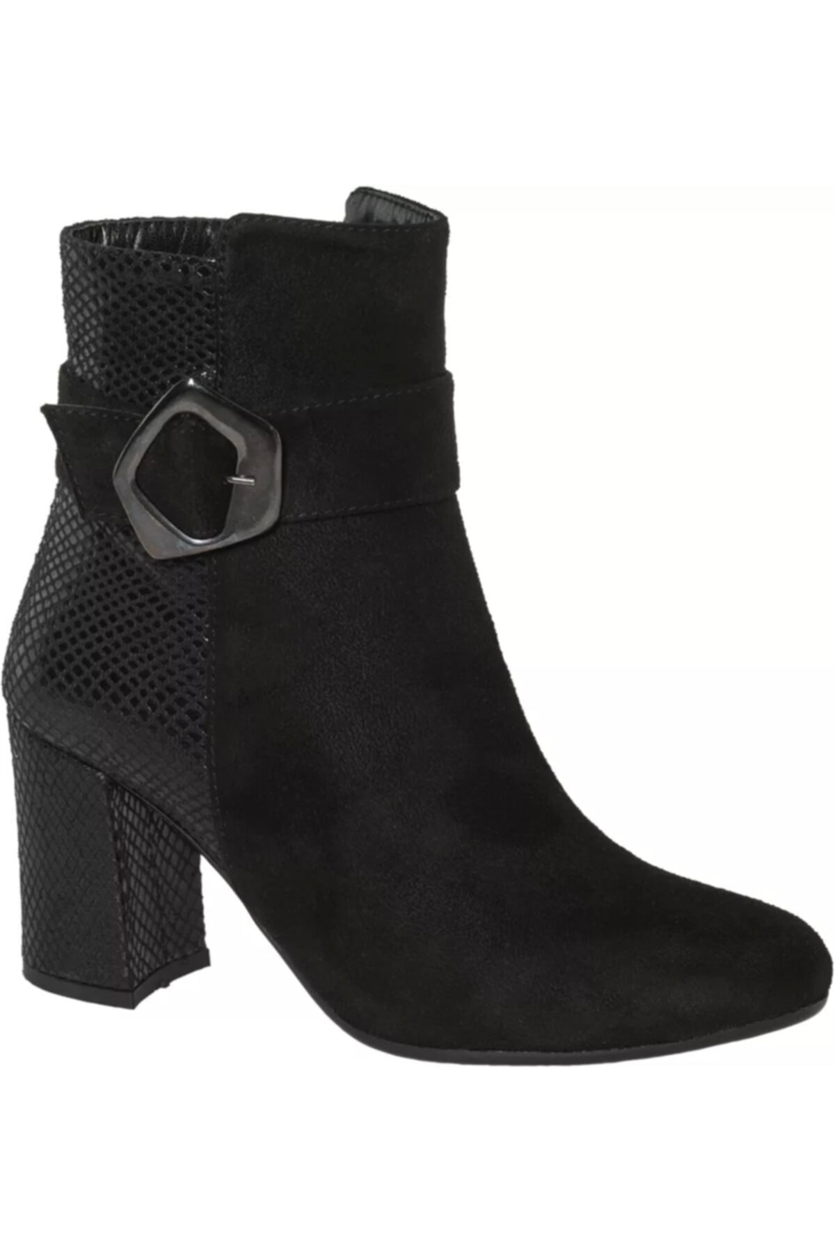 Graceland Deichmann Kadın Siyah Topuklu Bot