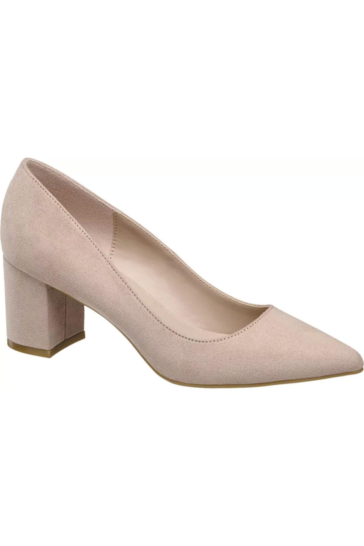 Graceland Deichmann Kadın Pembe Topuklu Ayakkabı