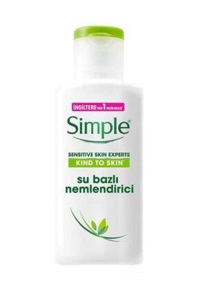 Simple Sımple Sensitive Skin Experts Kind To Skin Su Bazlı Nemlendirici 125 Ml 0