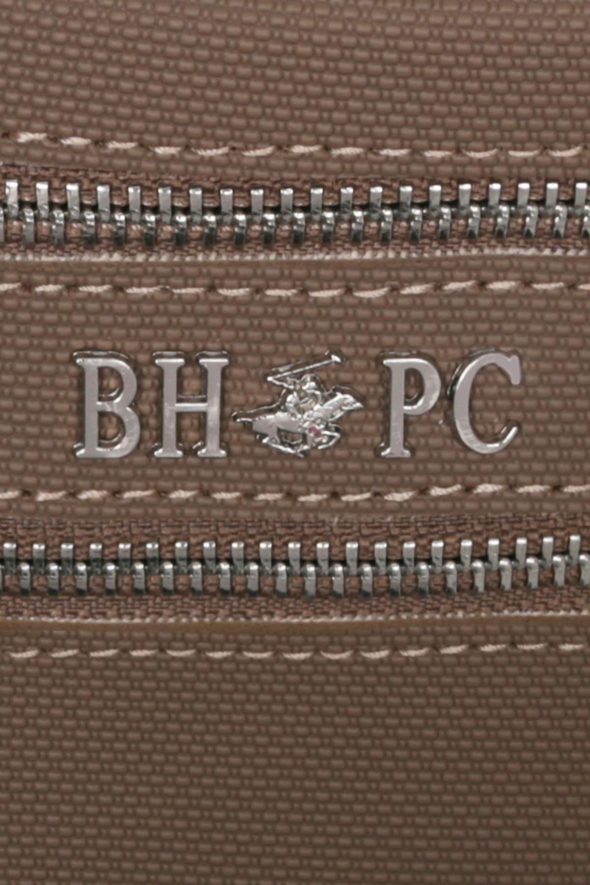 Beverly Hills Polo Club Kadın Çok Bölmeli Bel Çantası Vizon 4