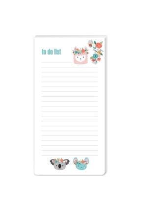 Keskin Color K-gift 8,6x16 40 Yp To Do List Koalalama 493091-99 0