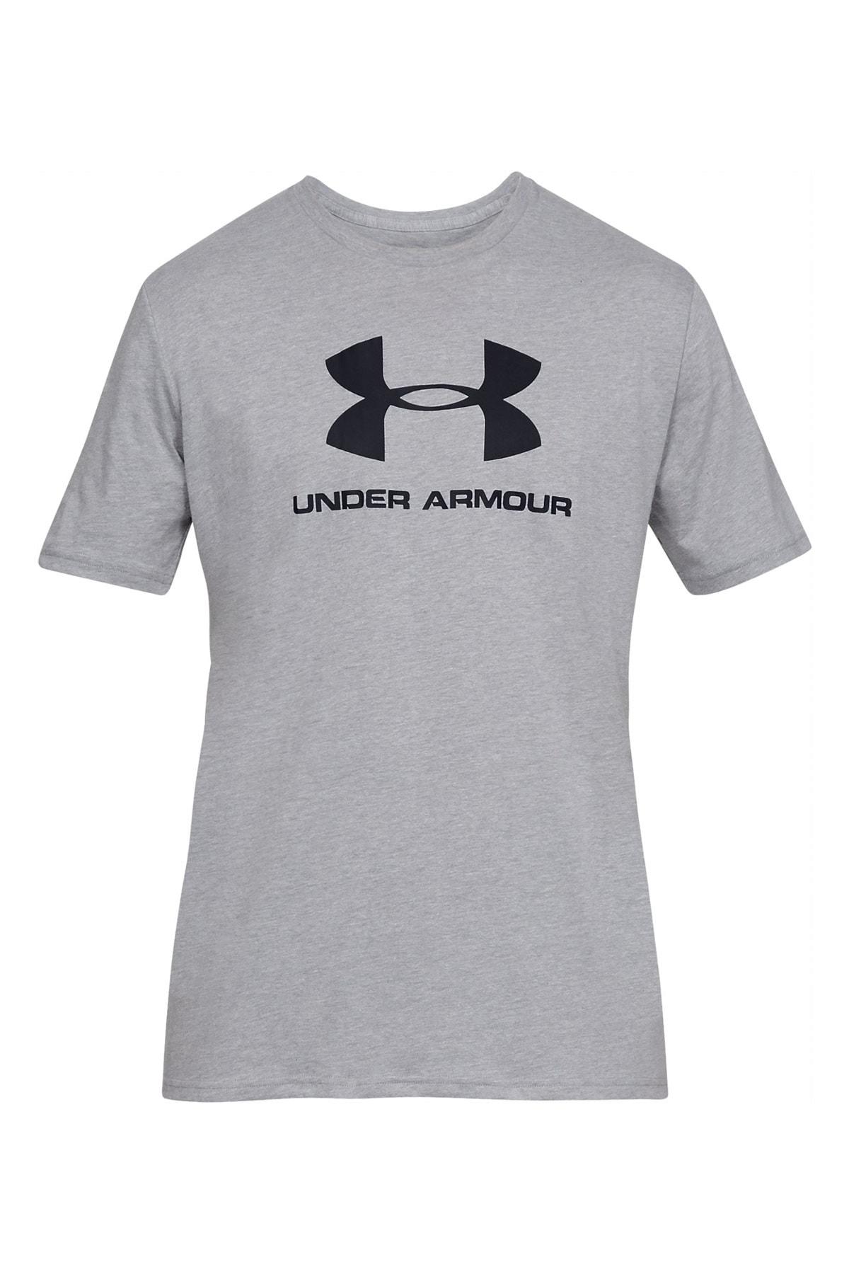 Erkek Spor T-Shirt - UA SPORTSTYLE LOGO SS - 1329590-013