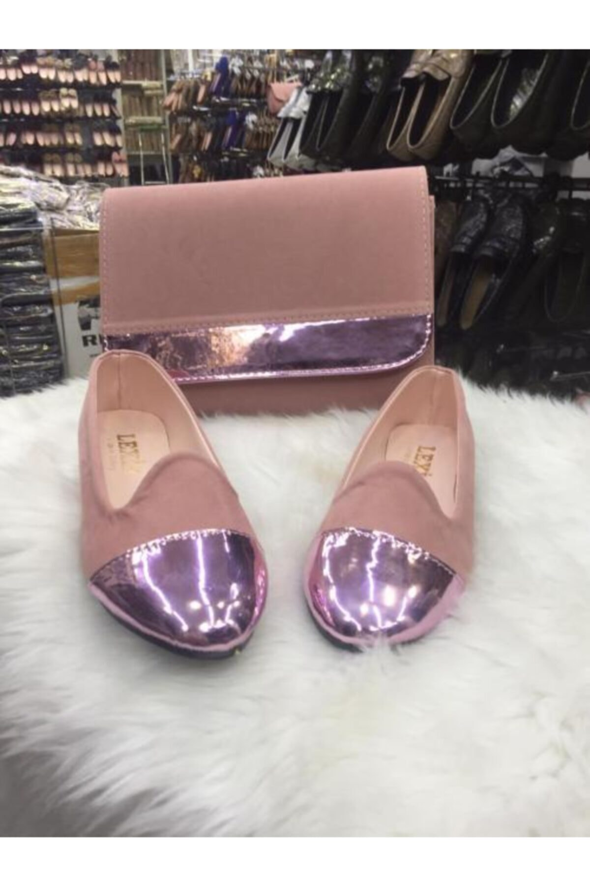 lexıa Kadın Krem Yeni Tasarım Ayakkabı