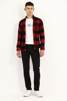 Erkek Siyah Cepli Jeans 202JK.930