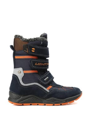 İmac Imac Lacivert Çocuk Outdoor Ayakkabısı 64398 BLUE ORANGE 2
