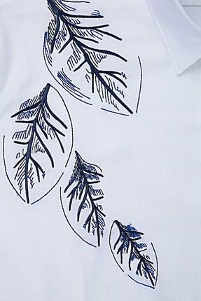 Tween Beyaz Gomlek - 9TC02KD00223-801 4