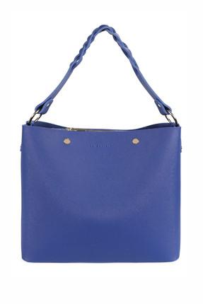 Laura Ashley Kadın Örgü Askılı Baget Çanta Saks Mavi 1