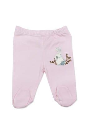 Necix's Bebe Pembe Tavşanlı 3 Lü Kız Bebek Alt Takım K2634 1
