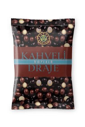 Kahve Dünyası Kahveli Draje, Sütlü-Bitter Çikolatalı 200 gr 0
