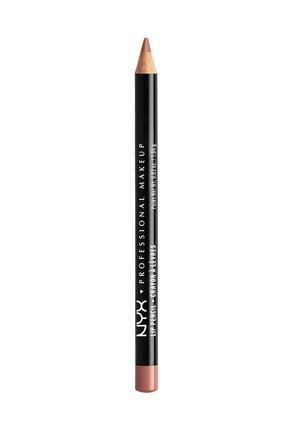 NYX Professional Makeup Dudak Kalemi - Slim Lip Pencil Peekaboo Neutral 800897139469 0