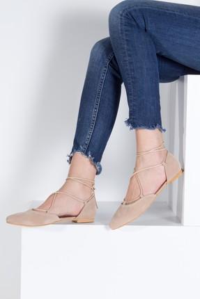 Fox Shoes Ten Kadın Babet B726047202 0