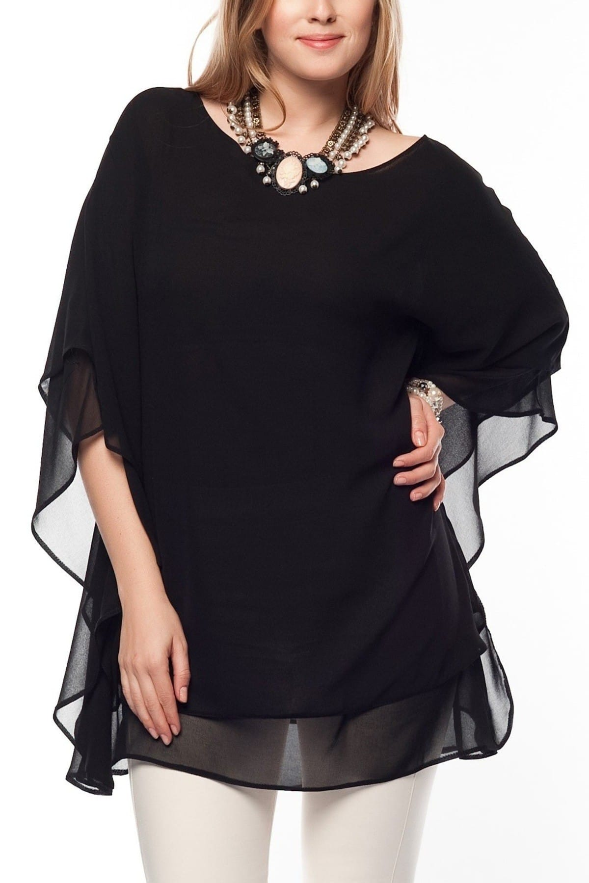 Kadın Siyah Fontanem Siyah Tunik fb991201311
