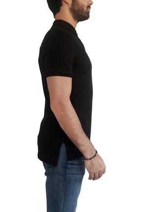 Mof Basics Erkek Siyah T-Shirt POLO-S 2