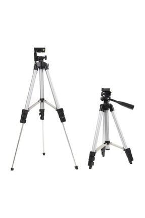 AlpCollection 3110 Ayarlanabilir 1m 105cm Kademeli Telefon Kamera Tripod Ayak 3