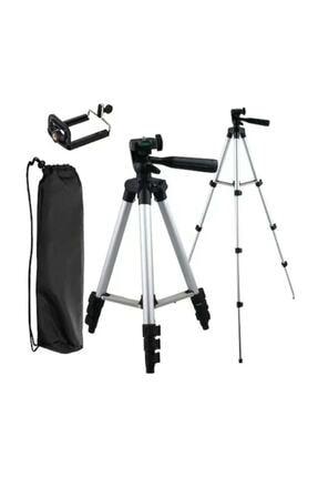AlpCollection 3110 Ayarlanabilir 1m 105cm Kademeli Telefon Kamera Tripod Ayak 4