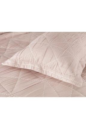 Madame Coco Delphine King Size Yatak Örtüsü - Açık Mürdüm 1