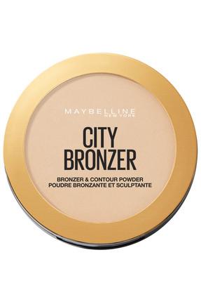 Maybelline New York City Bronze Bronzlaştırıcı & Kontür Pudrası Açık. Soğuk Ton 100 Light Cool 3600531528973 1