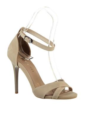 Fox Shoes Ten Kadın Topuklu Ayakkabı B922113702 3