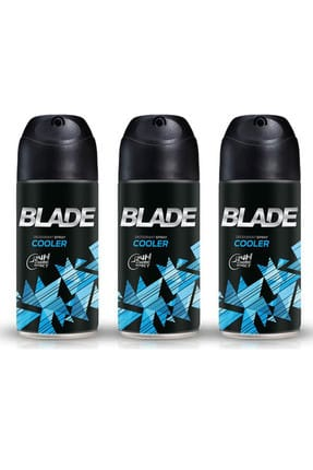 Blade Cooler 3'lü Erkek Deodorant 3 x 150 ml 506618-3 0