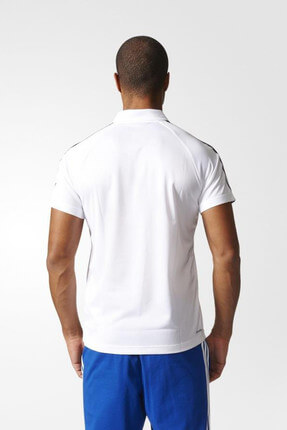 adidas Erkek Polo Yaka T-shirt - D2M 3S Polo White - BK2602 2