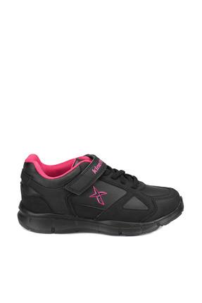 Kinetix BULLET PU Siyah Fuşya Kız Çocuk Yürüyüş Ayakkabısı 100272767 1