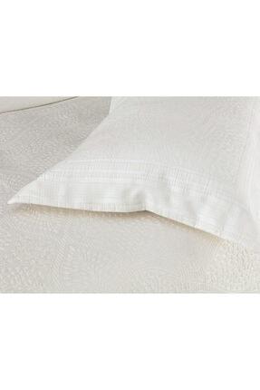 Madame Coco Matiese King Size Yatak Örtüsü - Beyaz 1
