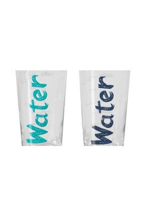 Mudo Concept Water Bardak 570 ml 2'li Set -Mavi&Turkuaz 1202431001 2